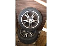 17'' alloy wheels 4x from our Merc Camper Van