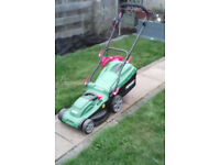 Qualcast 1600 watt electric rotary lawnmower,..