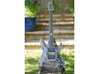 Schecter Exotic Star/With Bareknuckle Pickups (RARE)