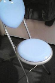 Love heart small folding stool