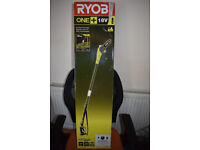 Ryobi One Plus 18v Cordless Pole Saw With Battery and Charger