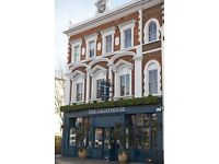 Earn over £10p/h as PART TIME Waiting Staff at Battersea Gastro Pub (evenings and weekends only)