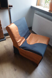 Small armchair with cover