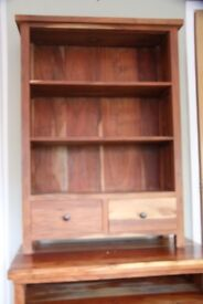 African Hardwood Dresser - Top Unit. To Collect!