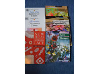 Various Craft Books (individually priced)