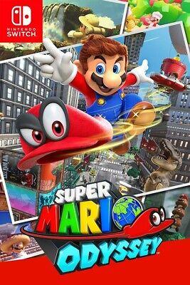 Nintendo Switch Super Mario Odyssey Key - Digital Codice - Avventura [IT/EU]