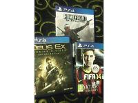 PS4 Division/Homefront the revolution/Destiny videogames (NEW)