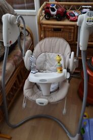 Graco Baby Swings/Bouncer Recliner Suitable since Birth