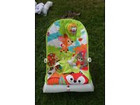 Fisher Price Baby Bouncer / Rocker with vibrator mode