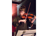 Private violin lessons both jazz and classical for all stages