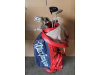 Macgregor clubs and bag