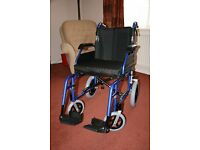 DRIVE MEDICAL ENIGMA XS LIGHTWEIGHT TRANSIT WHEELCHAIR