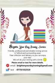Brighten Your Day Ironing Service