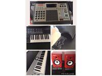 Music Equipment For Sale / Akai / Novation / KRK / SE Electronics Package