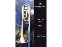 JP Rath 332 BbF Tenor Trombone