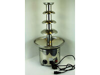 4 Tiers Stainless Party Cater Hotel Commercial Chocolate Fountain Chocolate Fondue Fountain Machine