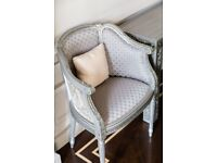 Silver Armchairs - Quick Sale