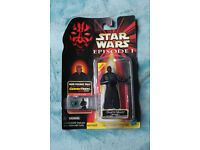Starwars Episode 1 UNOPENED Darth Maul Electric CommTech Chip