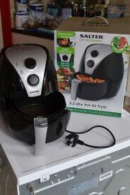SALTER HOT AIR FRYER 3.2L new in box