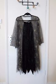 Black/Gold Witches Costume - Adult S/M