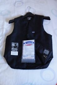 Mens Widder Lectric-Heat motorcycling vest. 42 inch chest