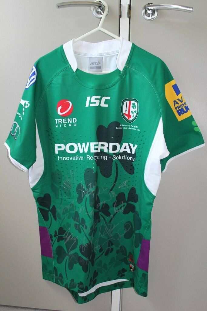 a239a93cfd6 London Irish St Patrick's Day rugby shirt | in Aylesbury ...