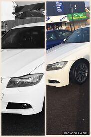 Genuine BMW halo HID Headlights