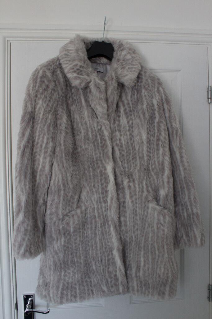 a89b18977 Joanna Hope Faux Fur Coat ~ UK Size 14 (EU Size 42) ~ New Never Worn   in  Wimborne, Dorset   Gumtree