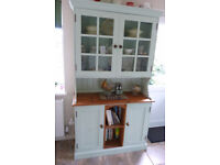 Bespoke Hand Made Solid Pine Kitchen For Sale