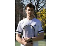 LTA 3.1 rated tennis coach, hitting partner and stringer