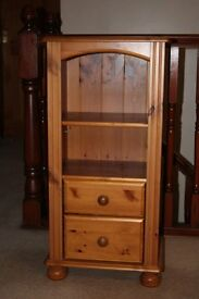 pine furniture ideal for a t.v. stand