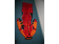 Multiple ski clothes & boots for woman & children