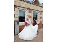 Stunning cathedral length veil