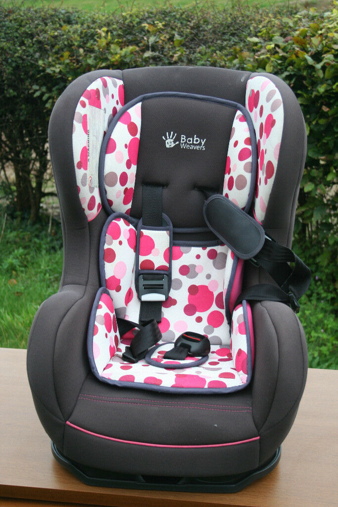 Baby Weavers CHILDS CAR SEAT up to 40 lb (4 years) - in sound condition, collect near Swansea Valley