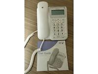 BT Decor 1300 White Telephone