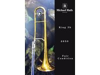King 3B Concert - Tenor Trombone