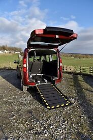 Vauxhall Combo Wheelchair Accessible Vehicle WAV - NEW - 36 Month Warranty