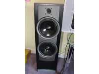 Stereo System Yamaha DSP amplifier + Wharfedale speakers house move
