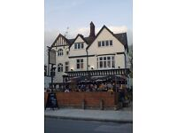 Energetic, passionate and expericed SUPERVISOR wanted for busy pub in Kentish town