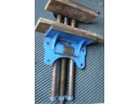 """Bench vice - GENUINE RECORD NO 52 1/2 E QUICK RELEASE WOOD WORKING VICE 9"""" JAWS"""