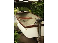 15ft fishing,lesure boat on trailer,engine optional