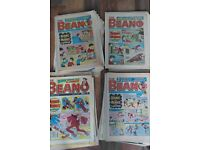"""UK COMIC THE ONE AND ONLY """"BEANO"""" OTHERS ALSO FOR SALE DANDY VICTOR WARLORD ETC ETC SEE PHOTOS"""