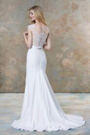 Classic Designer Wedding Dress - Ellis 19071 (Size 10/12)