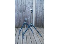 Pair of roller stands