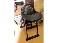 Black Mothercare High chair