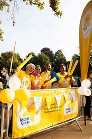 Volunteer for Marie Curie at the Ride London Cheer stations!