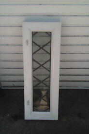 White upvc window for sale non opening