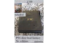 PS4 slim, final fantasy edition