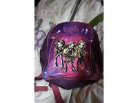 bratz child's pink /purple rucksack