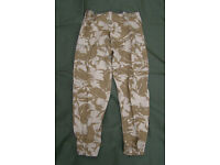 New - Rare, Desert Combat Trousers, (from Jordanian or Libya Army contract)